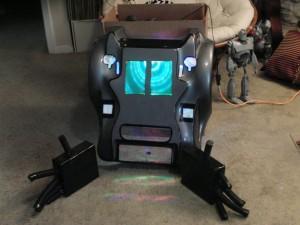 Robot Art Car Face lighting test.