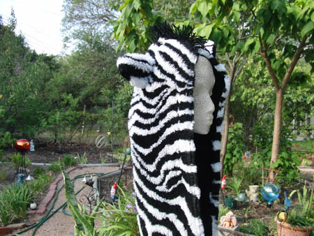 Zebra Scoodie